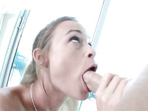 Teen Fuck Slut Rewarded With A Thick Facial Cumshot