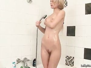 Fingers And A Banana In her Wet Teenage Pussy