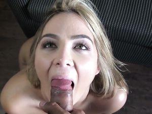 Curvy Teen POV Sex Gives Him A Huge Orgasm