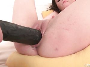 Teen Lesbians Wear Giant Strapon Cocks For Fucking