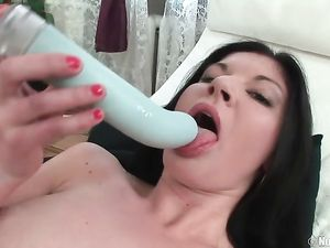 Cock Buried Balls Deep In The Tight Ass Of A Teen