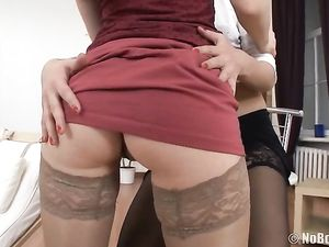 Young Sluts Offer Their Holes For His Pleasure