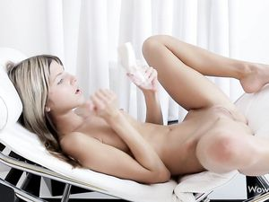 Tina Gina Gerson Is Turned On For A Toy In Her Ass