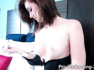 Casting Sex With A Smoking Hot Redheaded Slut