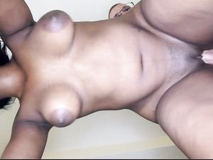 Voluptuous Young Ebony Babe Boned By White Dick In Bed