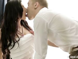 Young Stunner Bent Over And Taken Anally