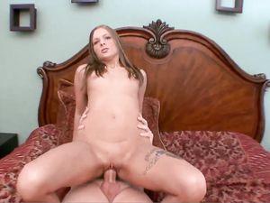 Big Cock Grandpa Fucks An 18 Year Old Slut