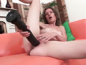 Dildos Bigger Than Any Cock Fuck The Solo Teen