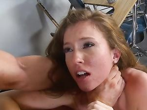 Kinky Schoolgirl Likes Rough Sex With Her Teacher