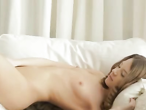 Tender Teenage Masturbation With A Skinny Beauty