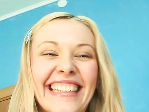 Adorable Blonde Is A Surprising Anal Slut