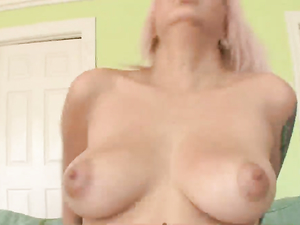 Punk Takes Cock And A Load On Her Titties