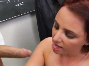 Schoolgirl Tits Covered In His Hot Cumshot