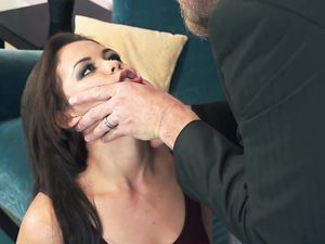 Cum In Mouth For A Brunette Angel After Fucking
