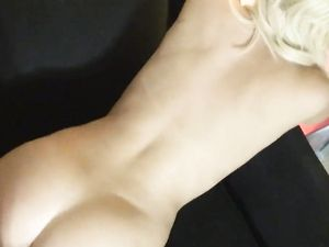 Adorable Blonde Angel Sucking An Fucking In POV